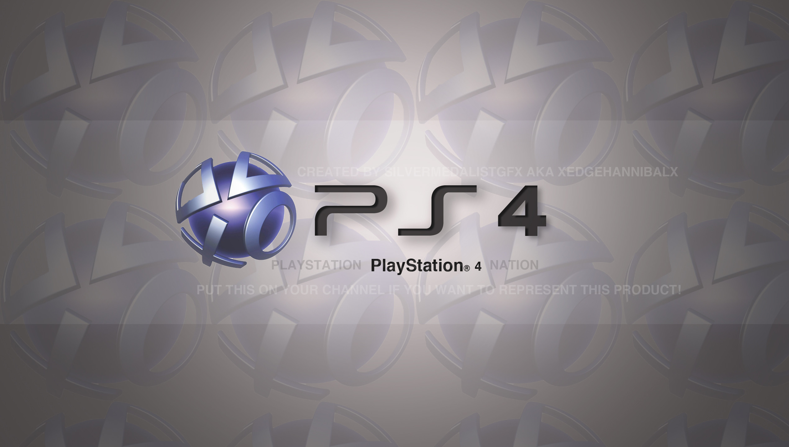 PS4 grey logo wallpapers and images   wallpapers pictures photos 2540x1440