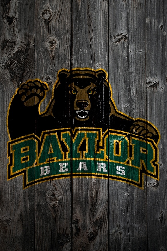 Baylor phone background    for the serious BU fan SicEm Baylor 640x960