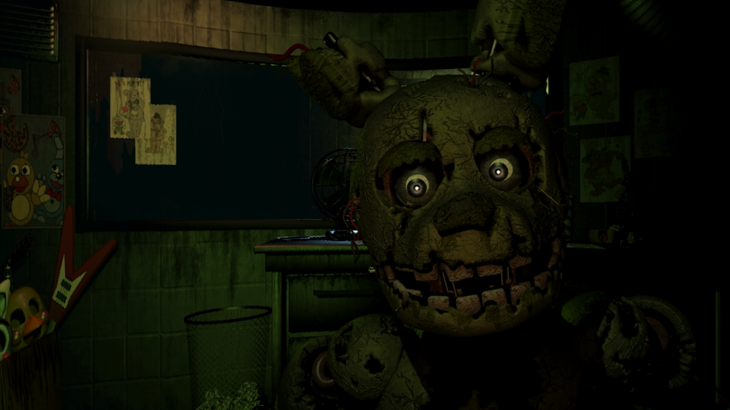 Springtrap Fnaf 3 Wallpaper by BloodyHorrible 1024x576
