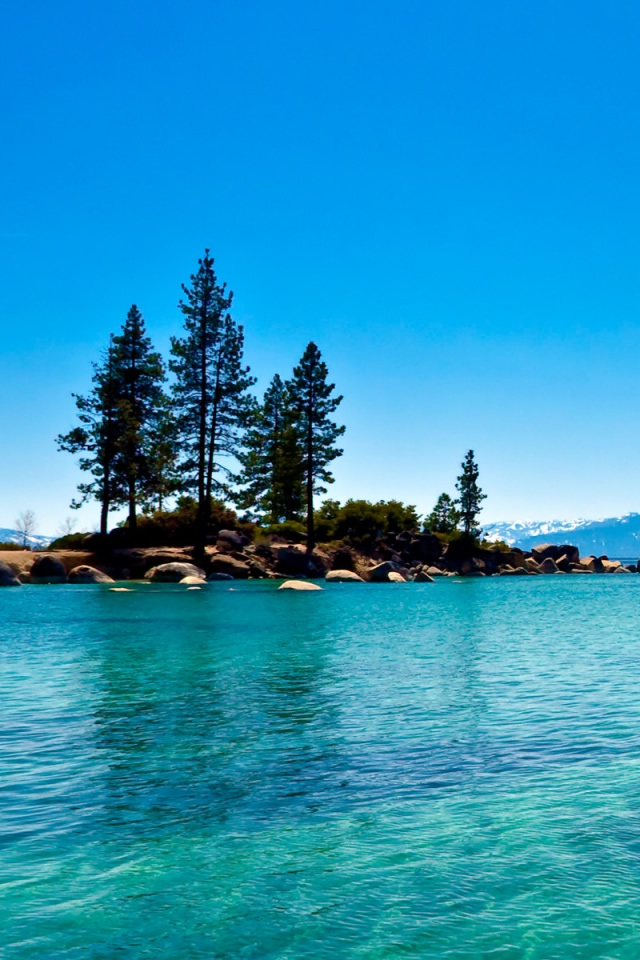 Lake Tahoe California iPhone Wallpaper Download iPad Wallpapers 640x960