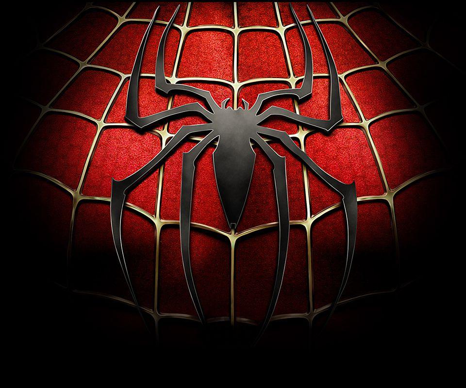 Spiderman Logo Spiderman Screen Split Second Hot HD Wallpapers 960x800