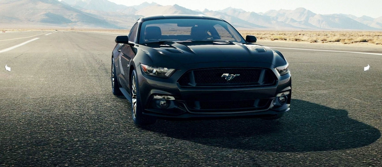 2015 Ford Mustang Black Wide Wallpaper 1987   Grivucom 1291x566