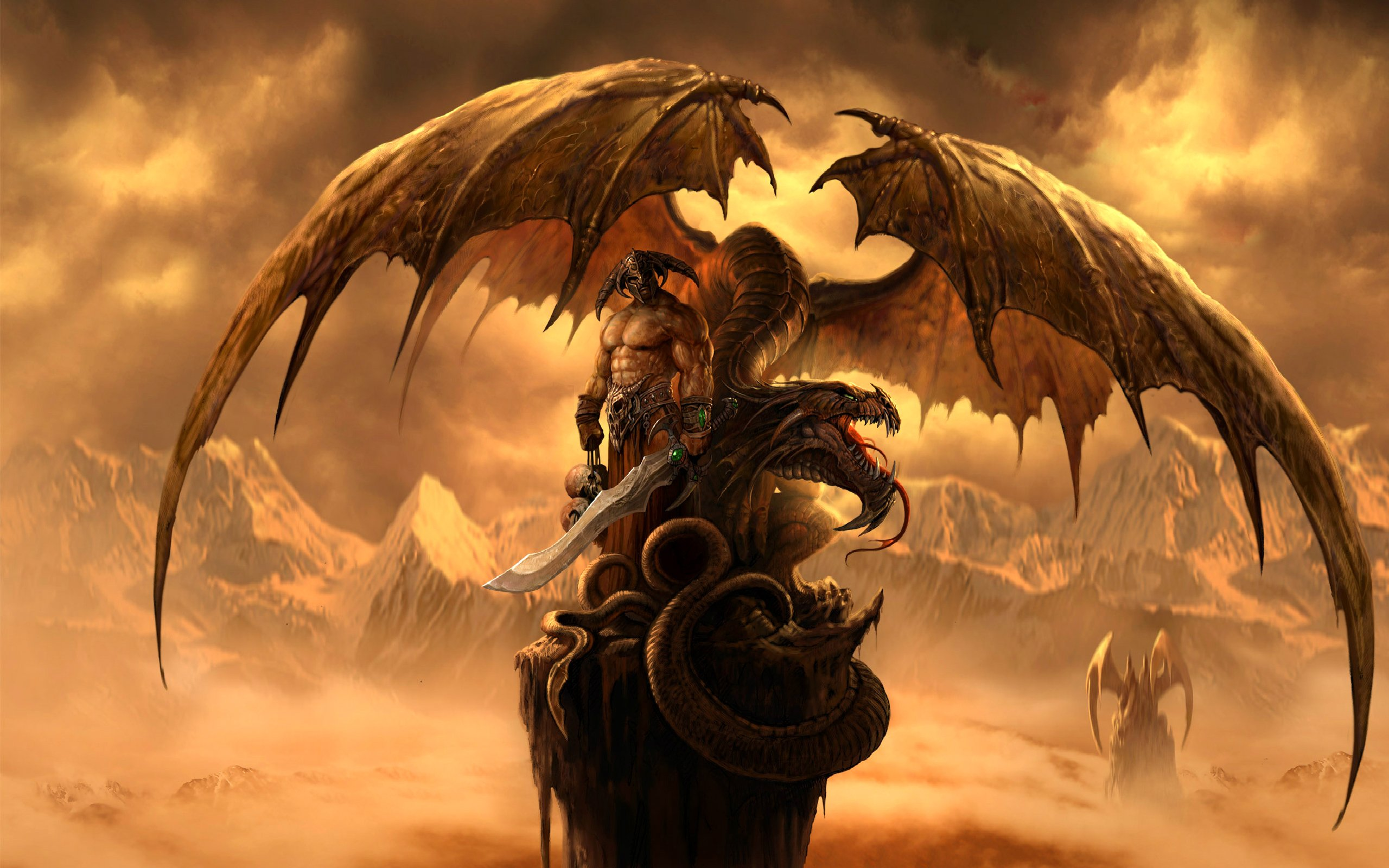 Fantasy Dragon dragons 27155090 2560 1600jpg 2560x1600