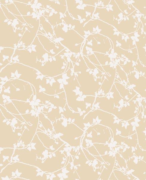 Our Shop Wallpaper Briar Briar wallpaper   pearl white 488x600