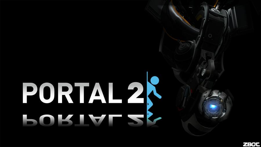 Portal 2 Background Evil Wheatley by Zbot21 900x506