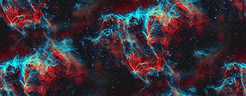 Galaxy Background Tumblr Quotes Stormy red nebula galaxyjpg 500x196