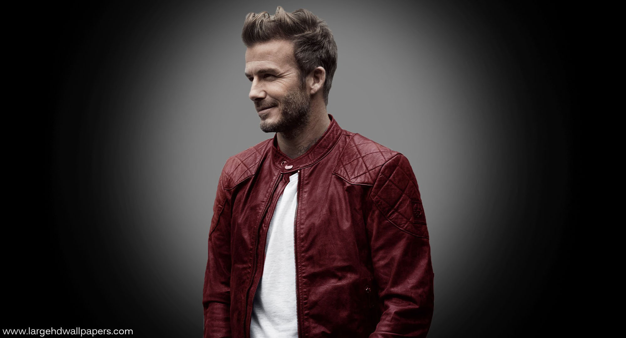David Beckham Smile Face Full HD Wallpapers   Large HD 2000x1081
