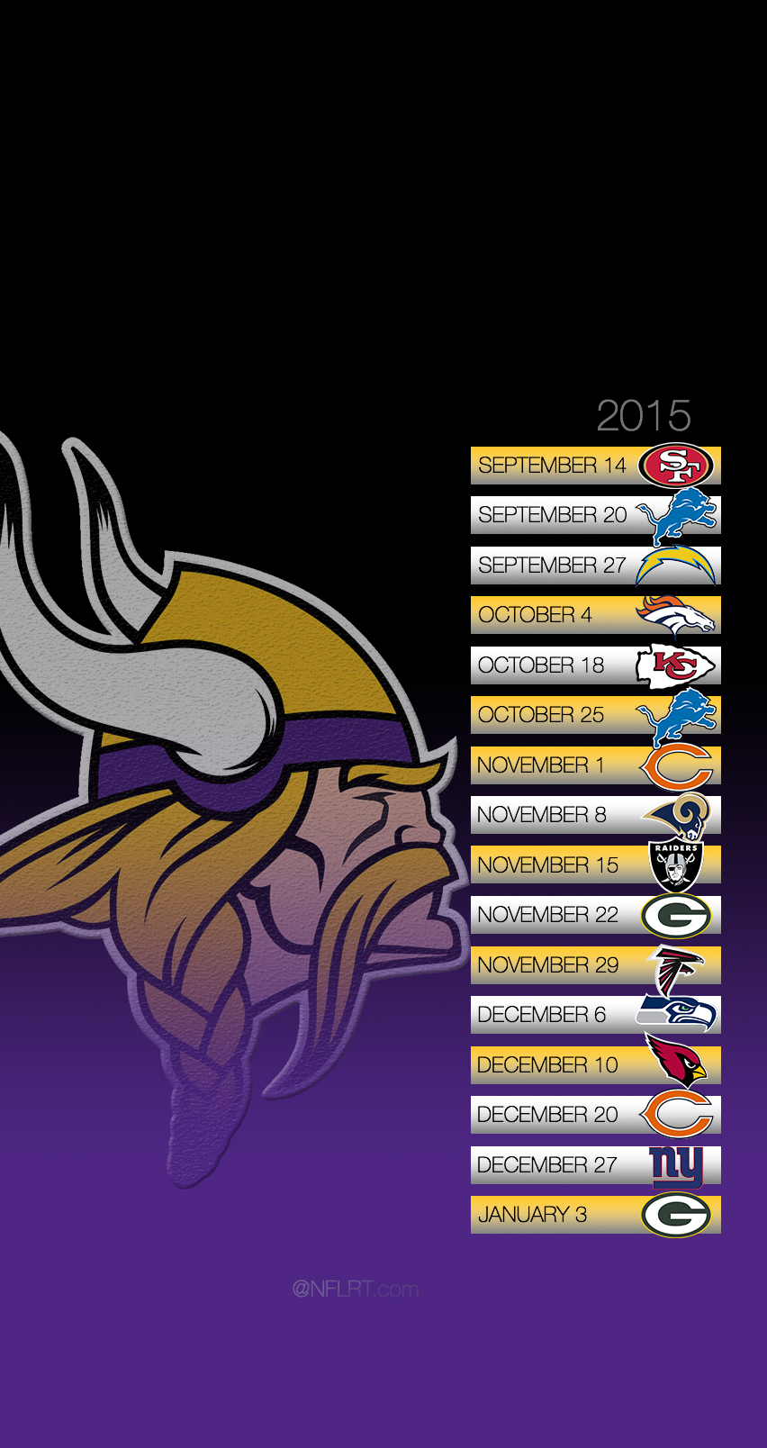 2015 NFL Schedule Wallpapers   Page 4 of 8   NFLRT 852x1608