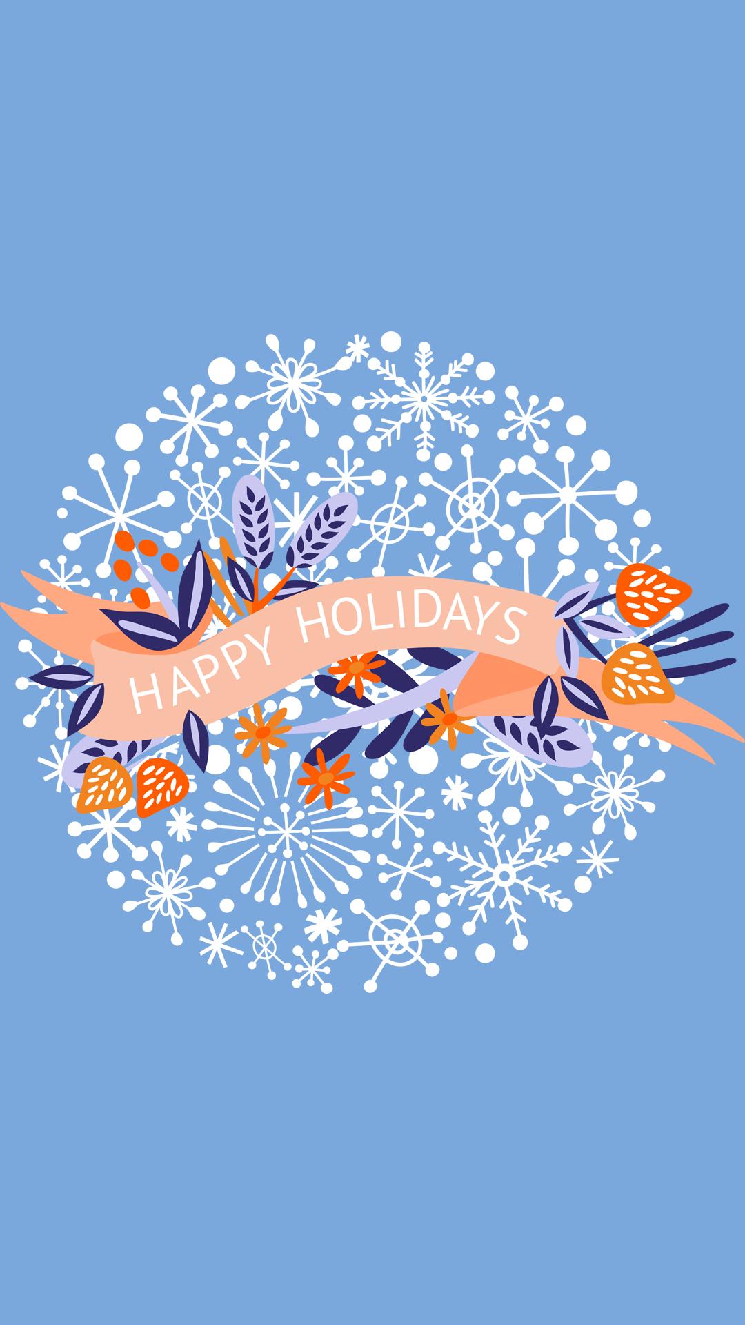 Happy Holidays Wallpaper Iphone 1116120   HD Wallpaper Download 1080x1920