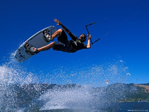 Kiteboarding Wallpaper 500x375