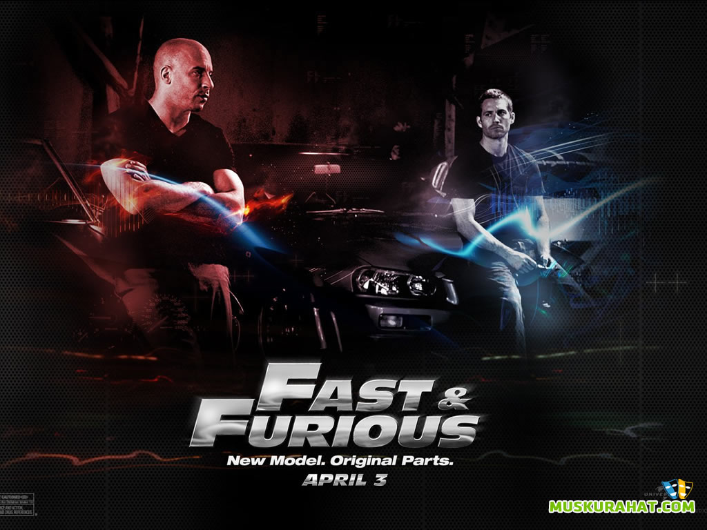 The Fast and the Furious Desktop Wallpaper 31703 Movies Wallpapers 1024x768