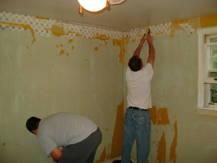 Removing Wallpaper With Fabric Softener Offers Useful Innovation For 720x540