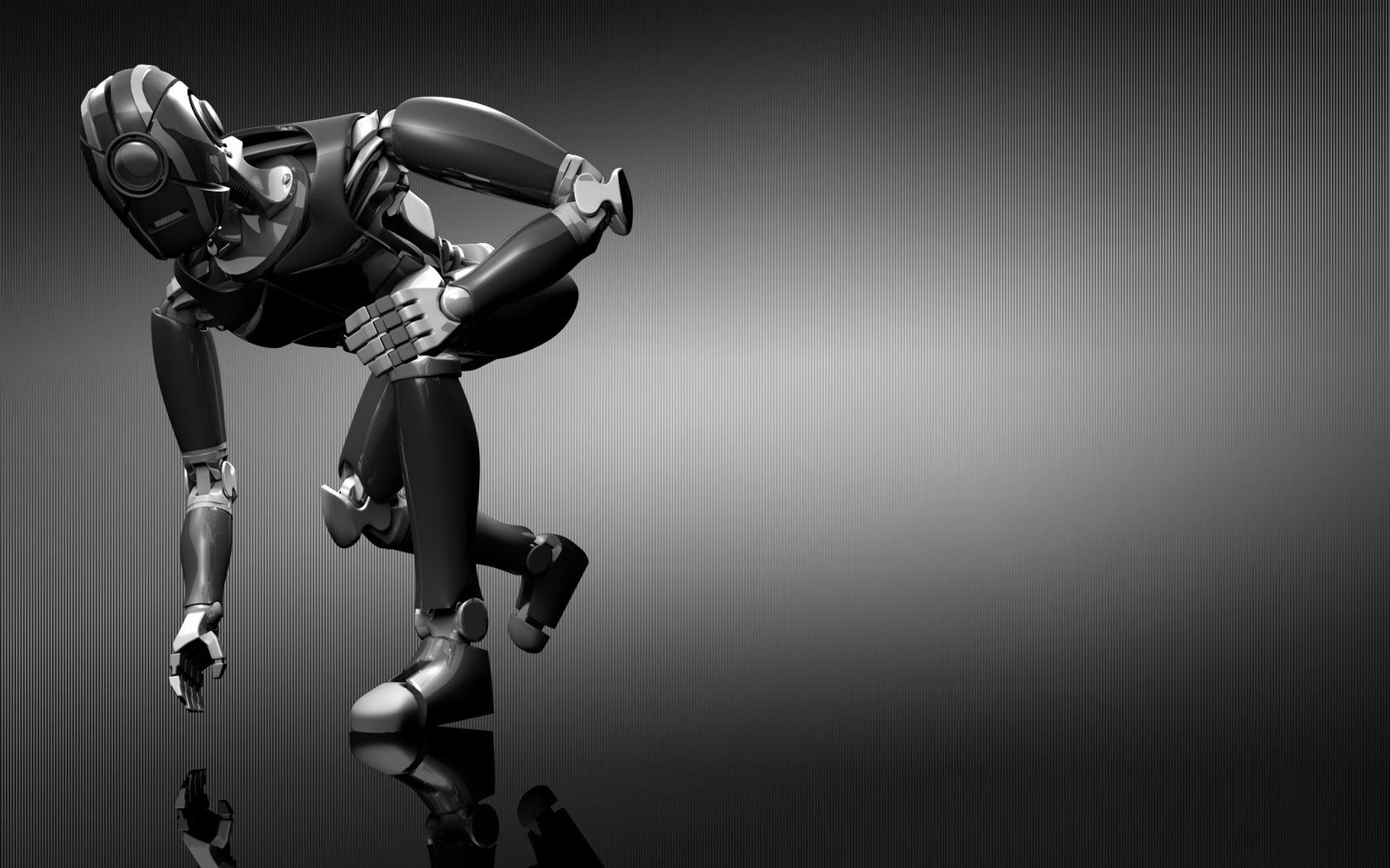 3D Robot Wallpaper Cool 3D Pictures 1680x1050