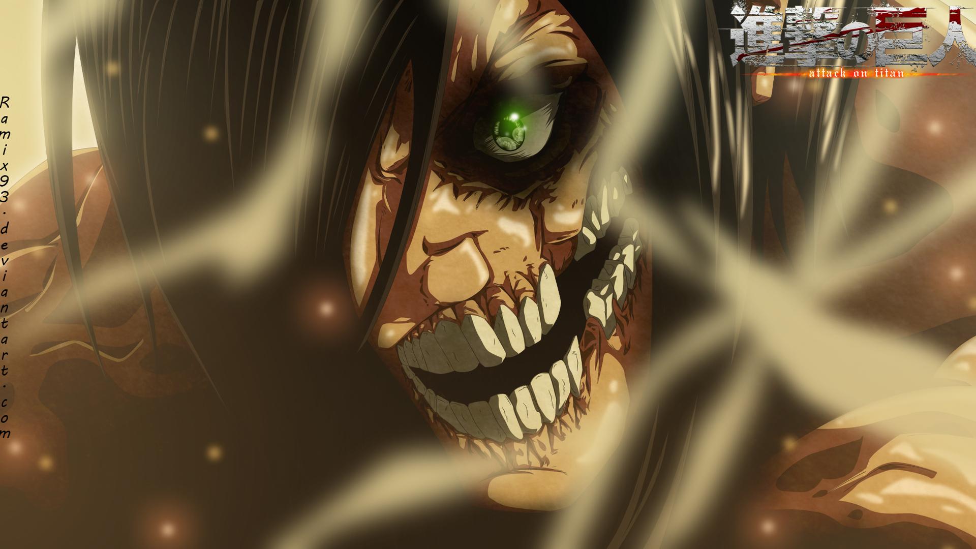 Rogue Titan Eren Jaeger Yeager Attack on Titan Shingeki no Kyojin 1920x1080