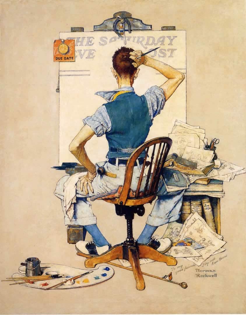 Norman Rockwell Wallpaper Wallpapersafari
