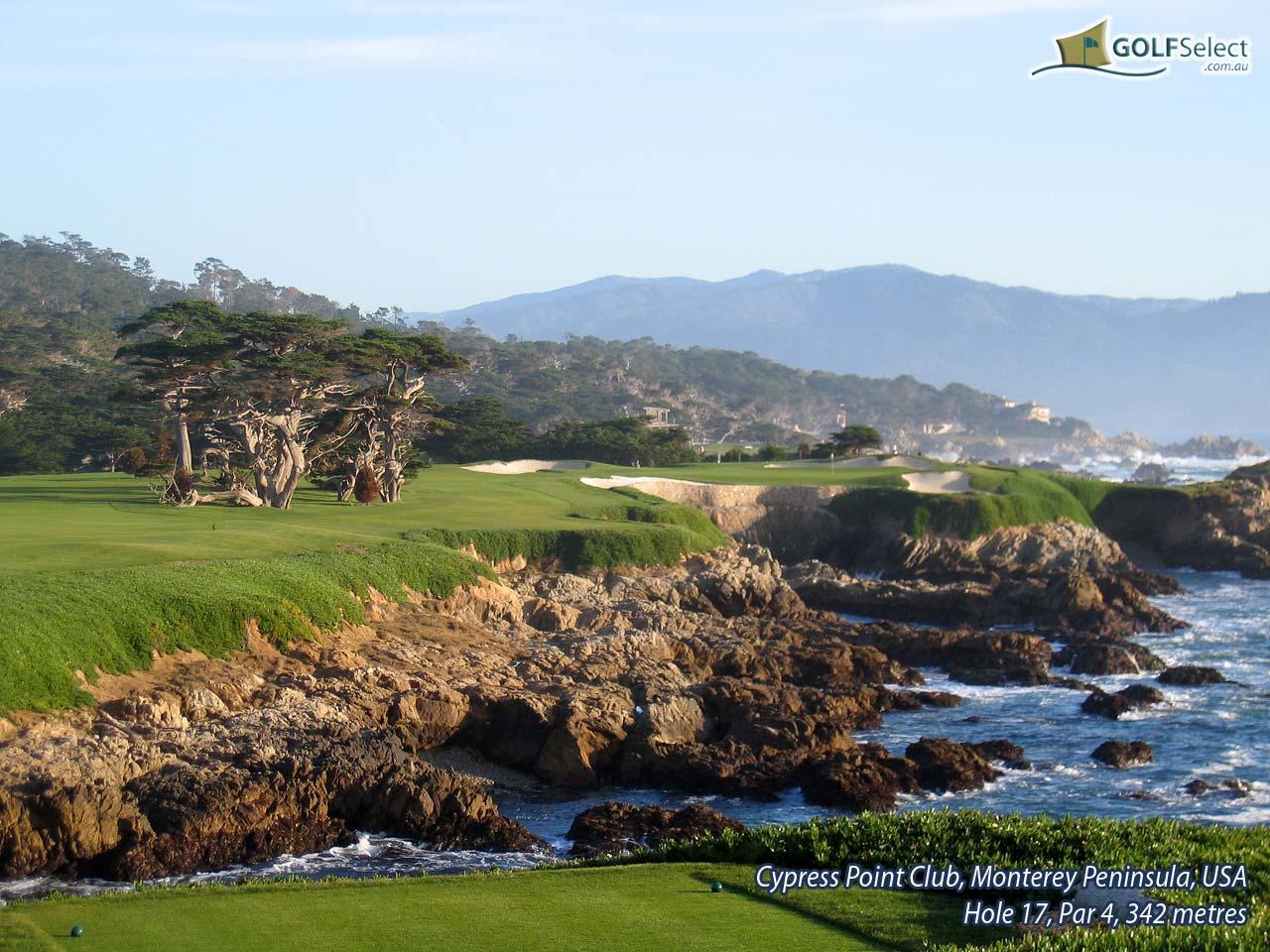 GOLFSelect   Golf Wallpaper   Cypress Point Club   Hole 17 Par 4 342 1280x960