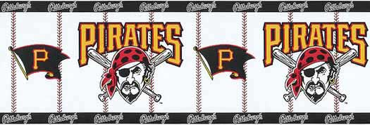 Pittsburgh Pirates Wallpaper Border   Wallpaper Border Wallpaper 525x178