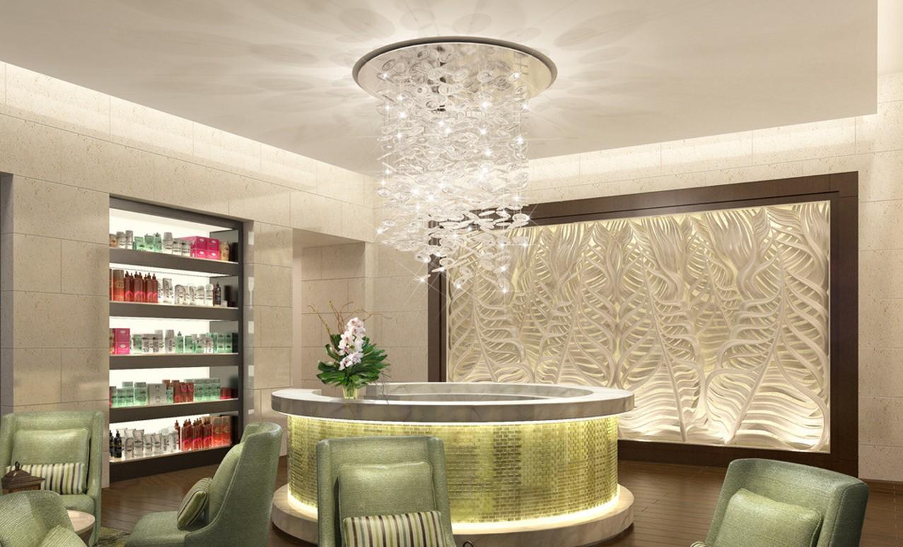 Beauty salon reception room interior design 3D house 3D house 1277x774