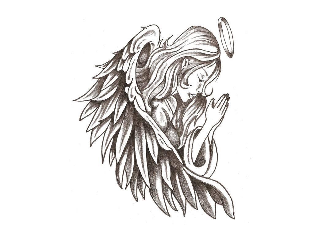 TATTOO ANGEL HD   tattoos Wallpaper 1024x768