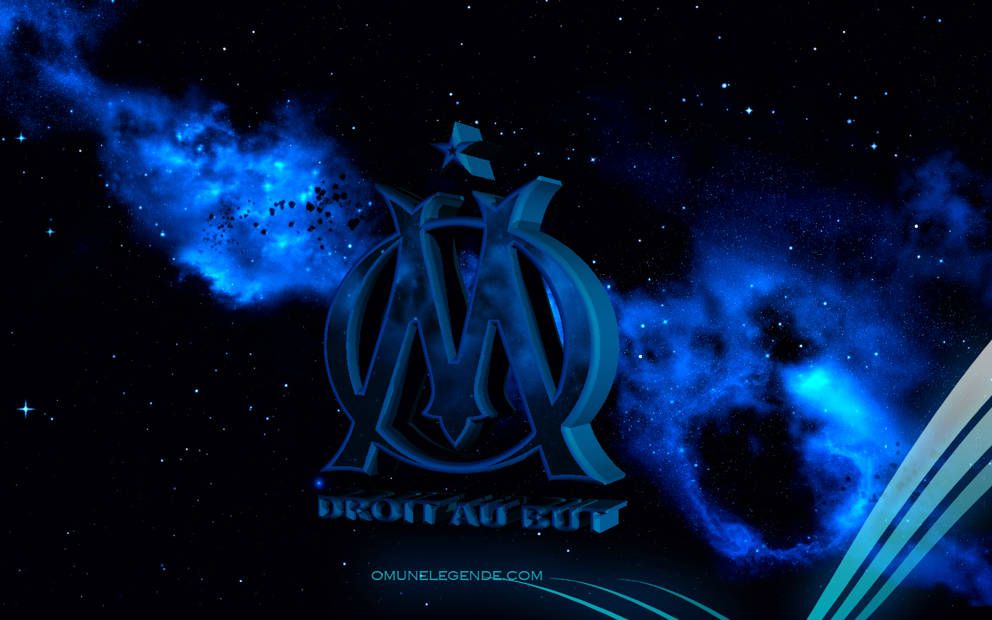 Olympique de marseille wallpapers wallpapersafari - Marseille logo foot ...