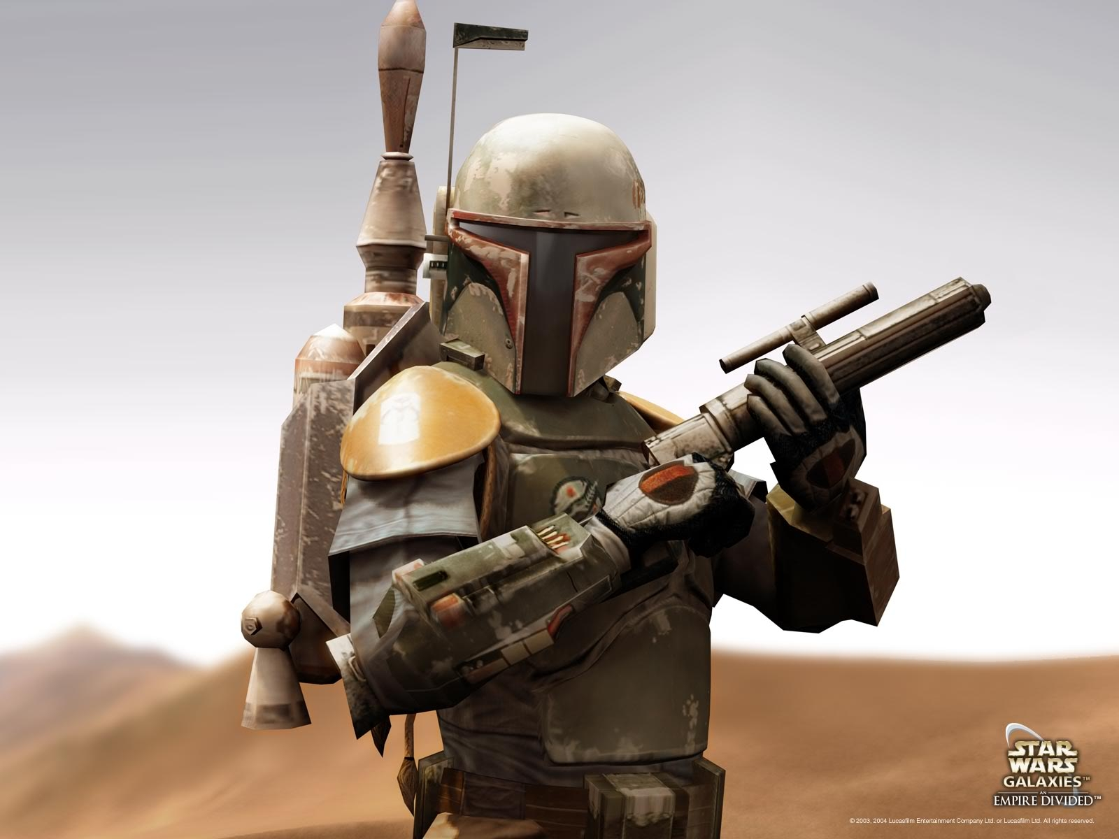 Star Wars Galaxies Boba Fett Wallpaperjpg 1600x1200