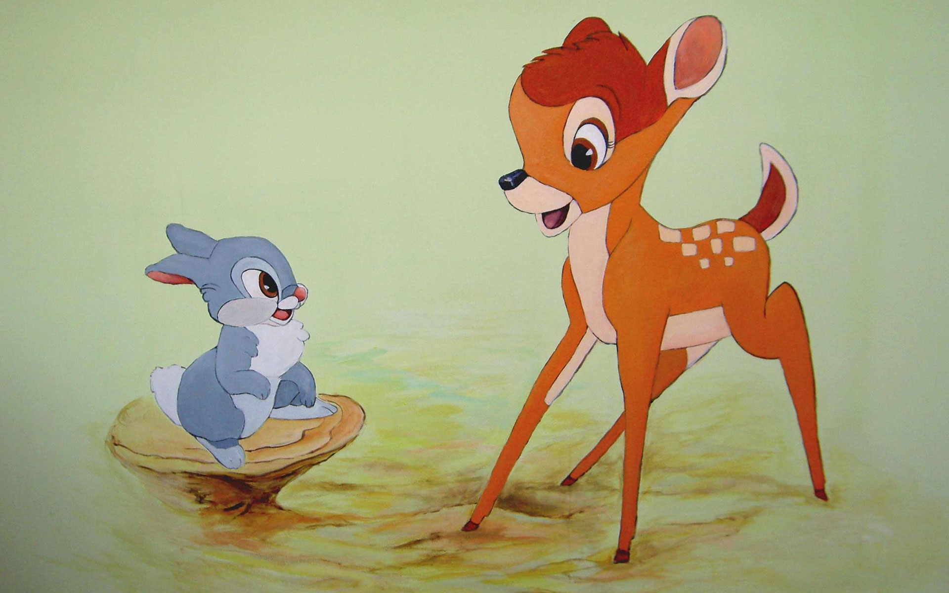 wallpaper thumper drawing bambi wallpapers cartoons 1920x1200