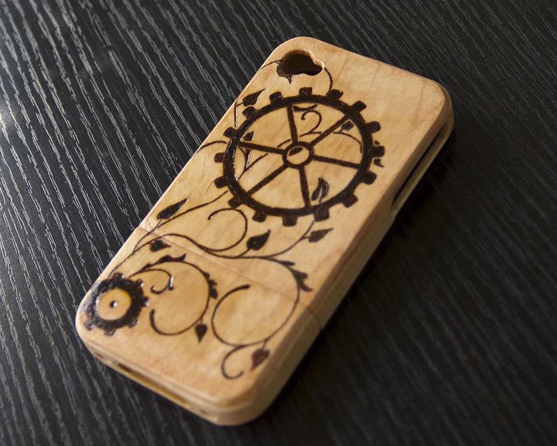 Steampunk Gears Iphone Wallpaper Steampunk gears iphone 4s 800x640