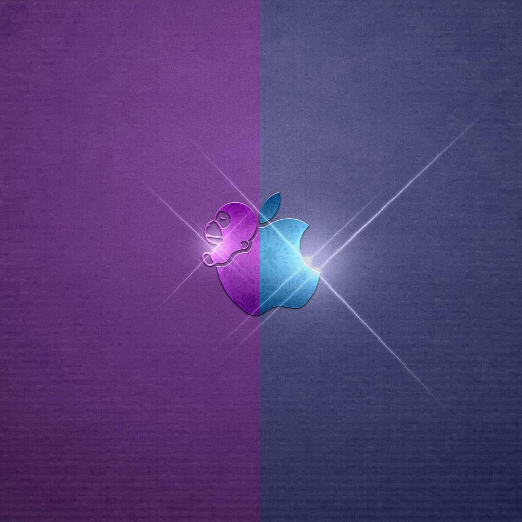iPad Wallpapers Cool apple logo 2   Apple iPad iPad 2 iPad mini 1024x1024
