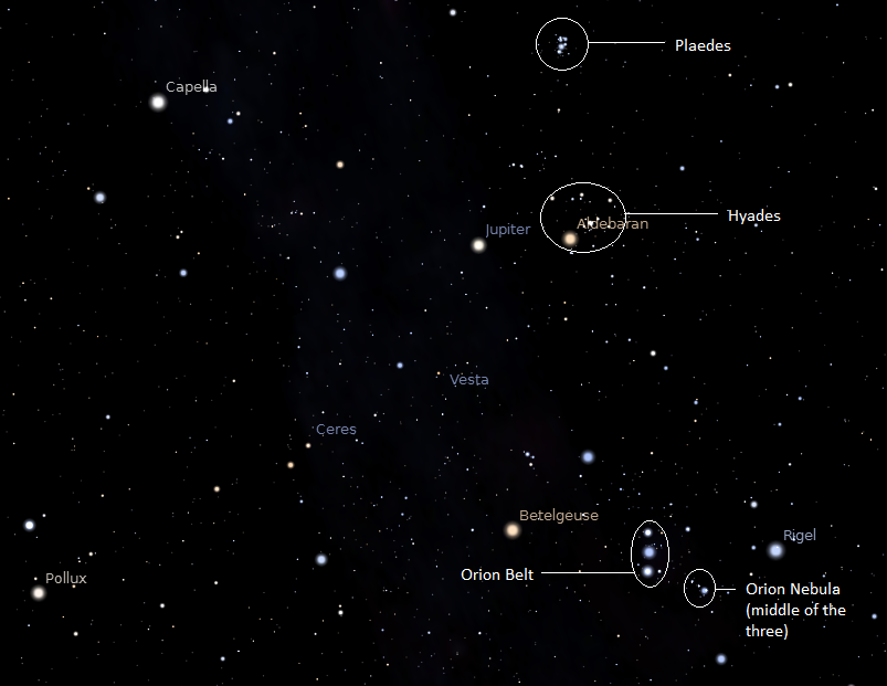 Orions Belt Constellation Wallpaper How To Find 803x621