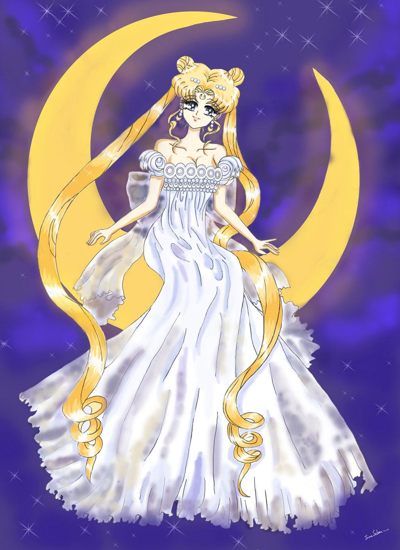 Anime moon princess wallpapers wallpapersafari - Manga princesse ...