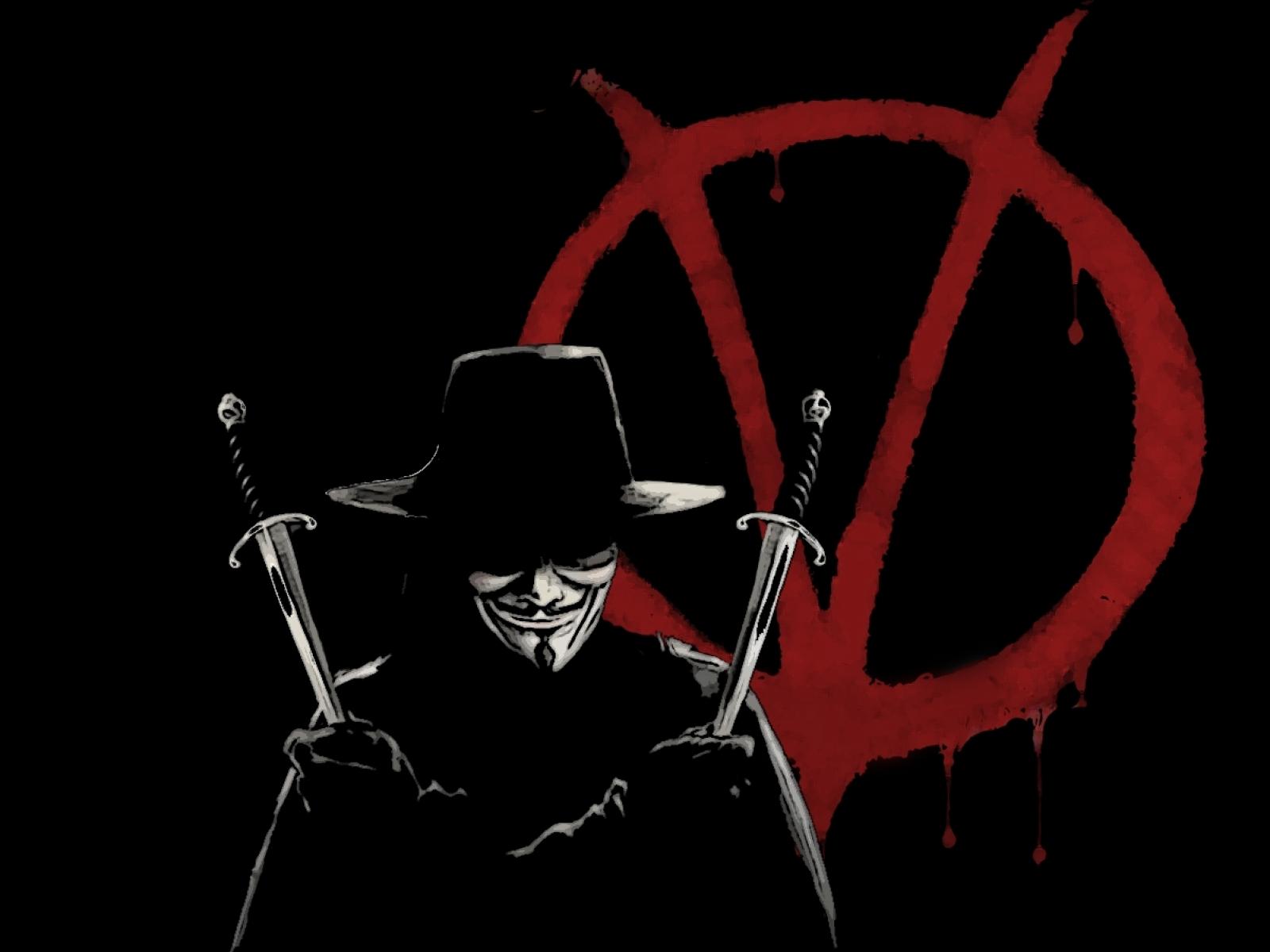74] V For Vendetta Wallpaper Hd on WallpaperSafari 1600x1200