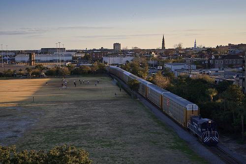 charleston sports park skyline w train Flickr   Photo Sharing 500x333
