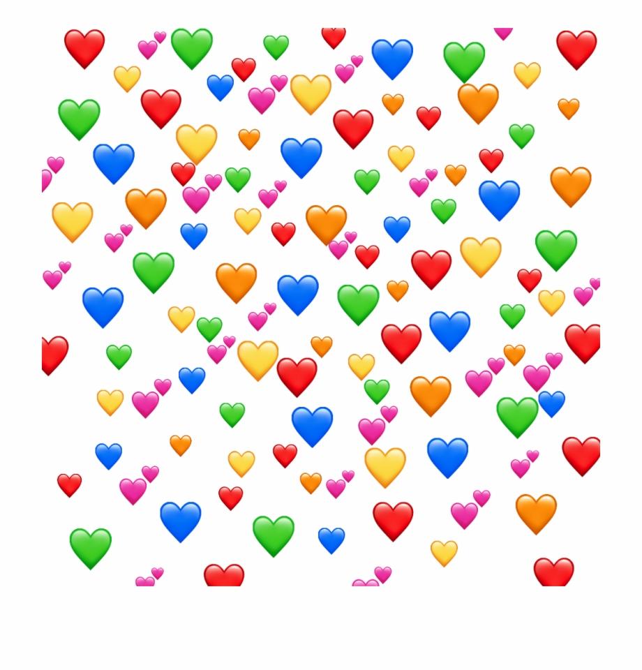 Enjoy Edit Love Background Pattern Orange Heart Mem   Heart Emoji 920x960