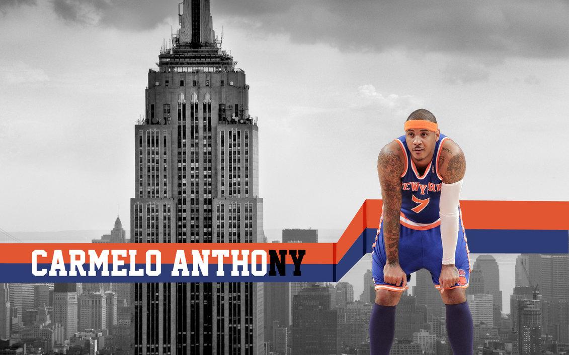 Carmelo Anthony New York Knick by Mrfletch1000 1131x707