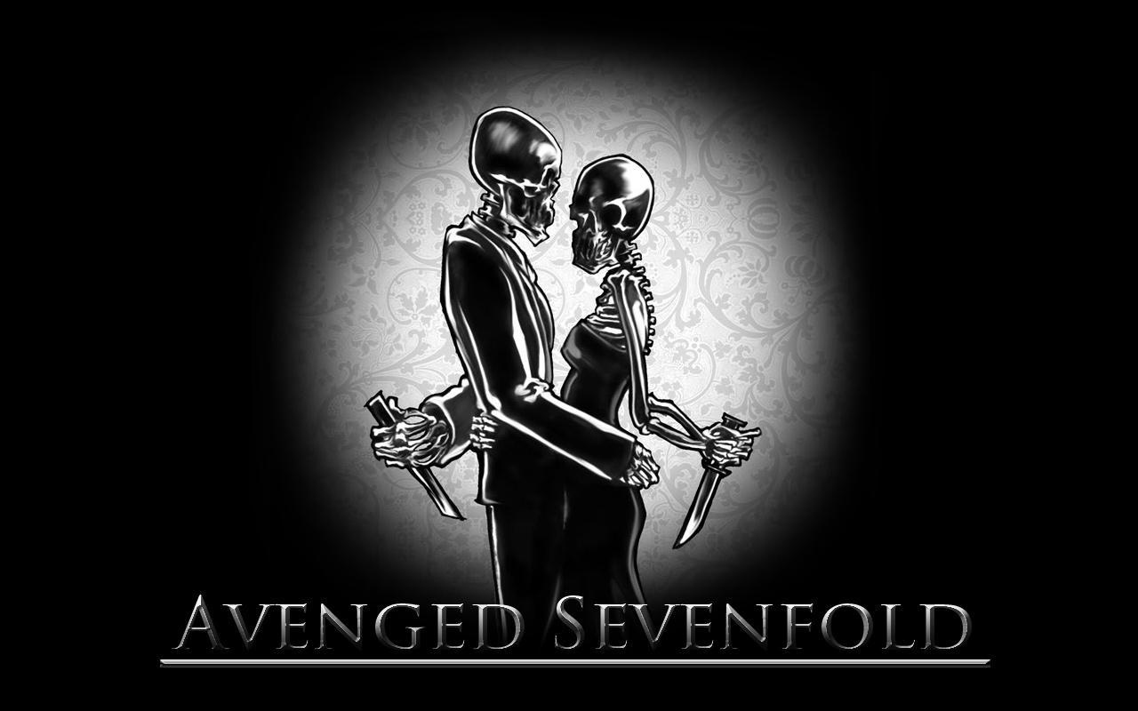 Avenged Sevenfold Wallpaper Logo 1280x800 pixel Popular HD Wallpaper 1280x800