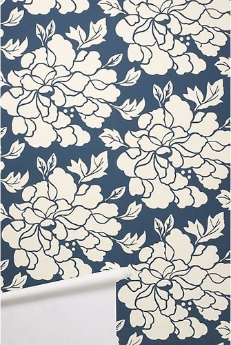 navy wallpaper Navy Pink Coral Nursery Pinterest 335x500