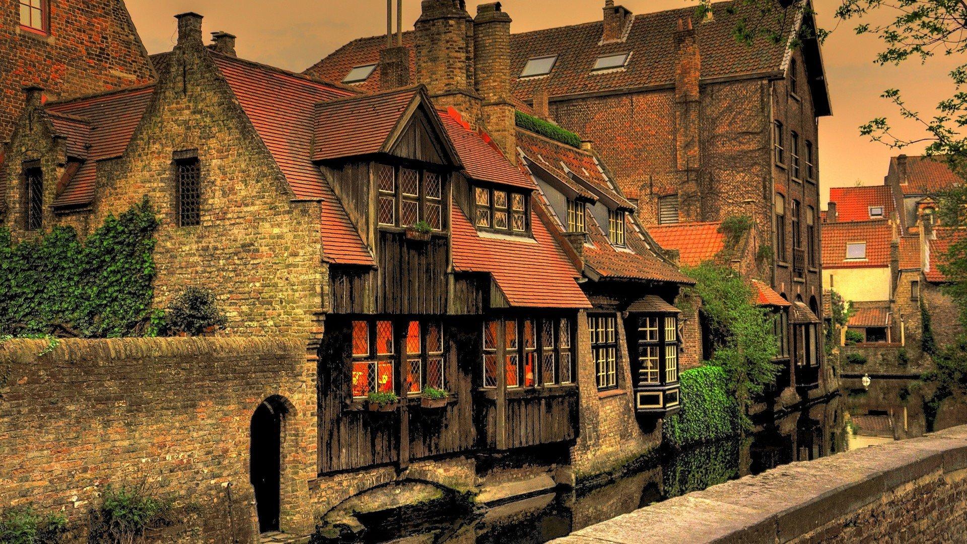 Bruges HD wallpaper 1920x1080