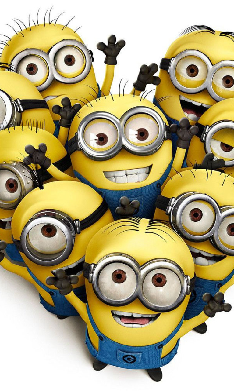 Dispicable Me   9 Minions Wallpaper for HTC Windows Phone 8S 768x1280