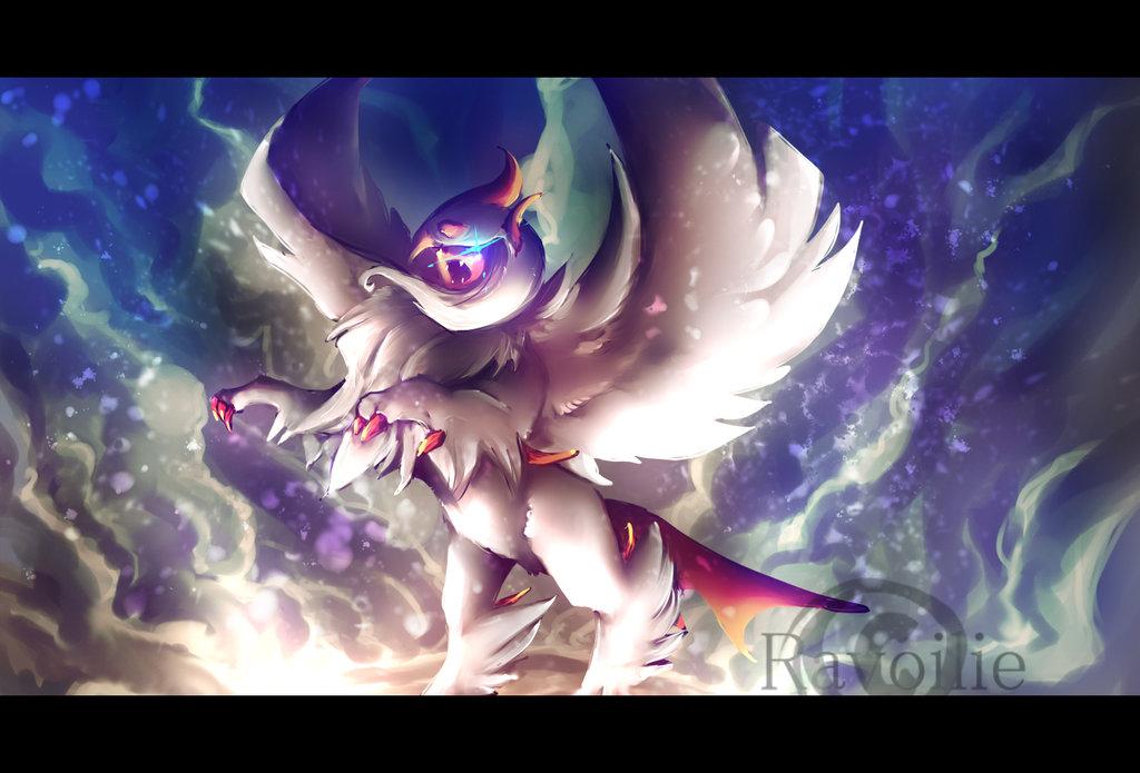 Mega absol by Ravoilie 1024x695