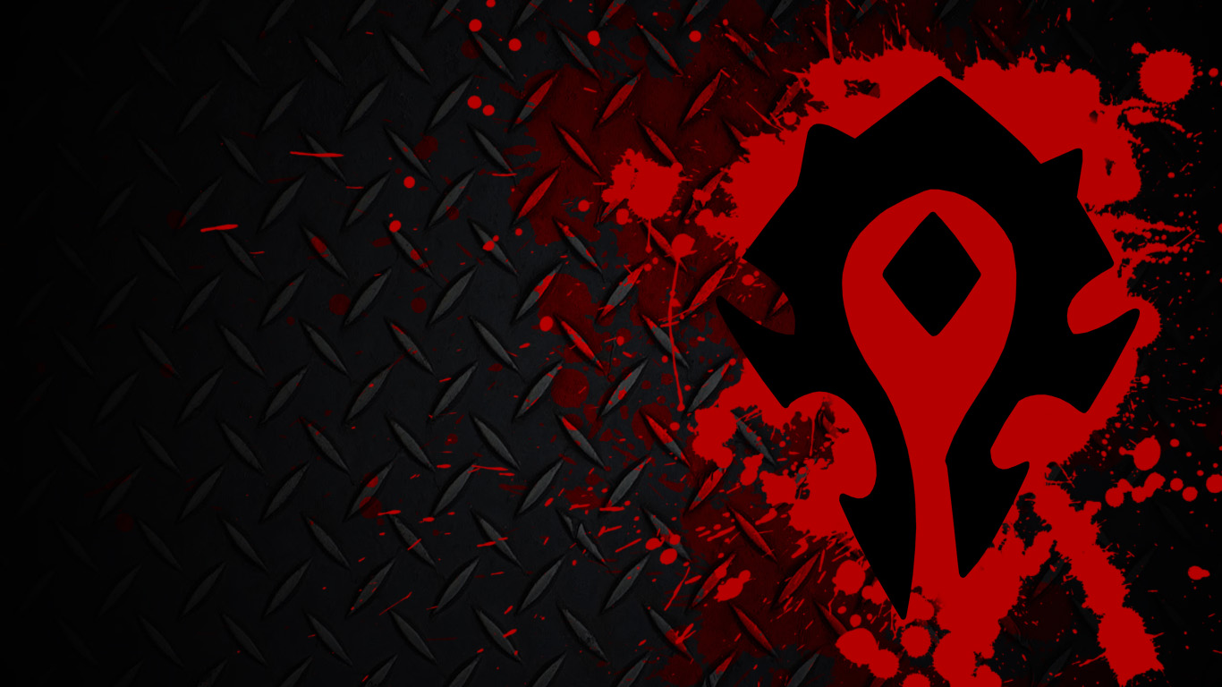 Free Download World Of Warcraft Home Wow Horde Simple I Made