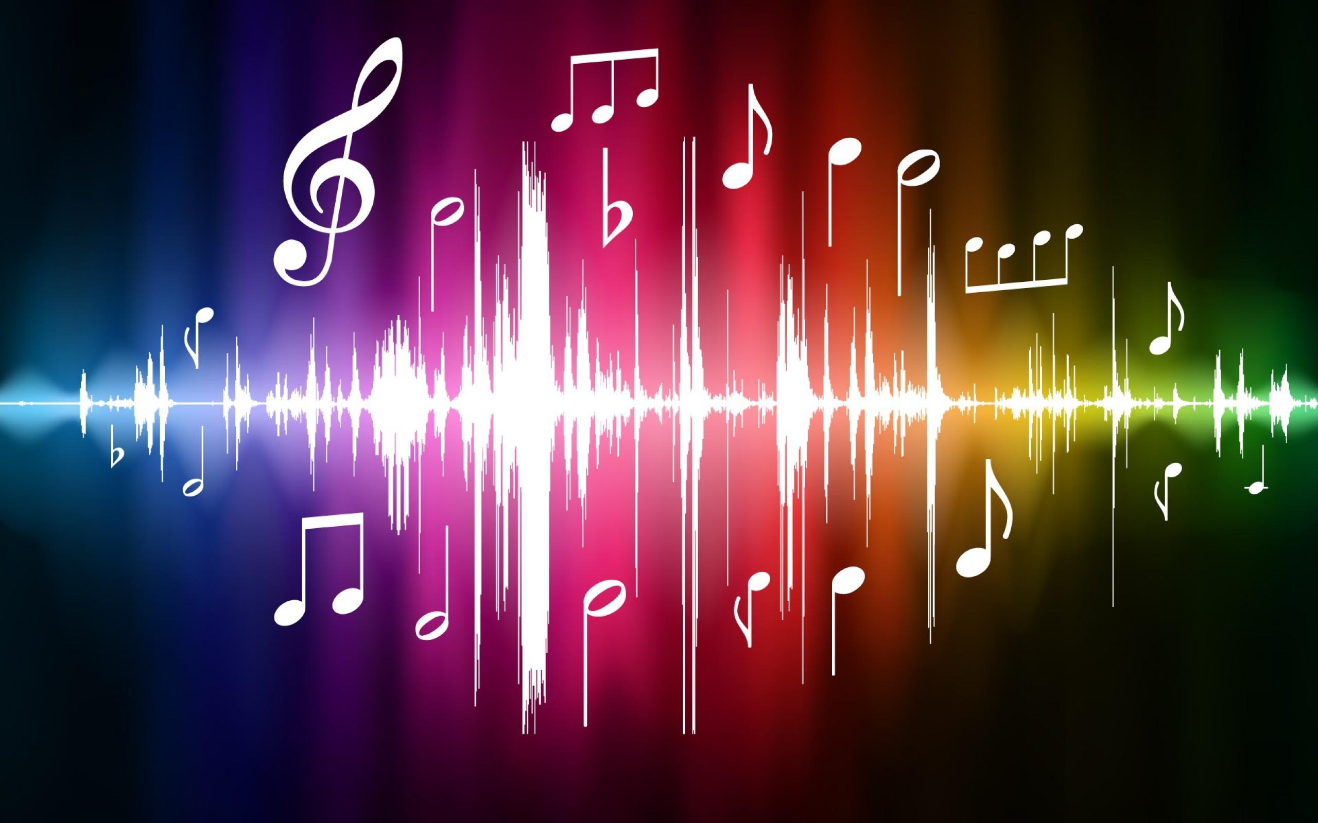 Vector music spectrum online Wallpapers   2560x1600 Best wallpaper 2560x1600