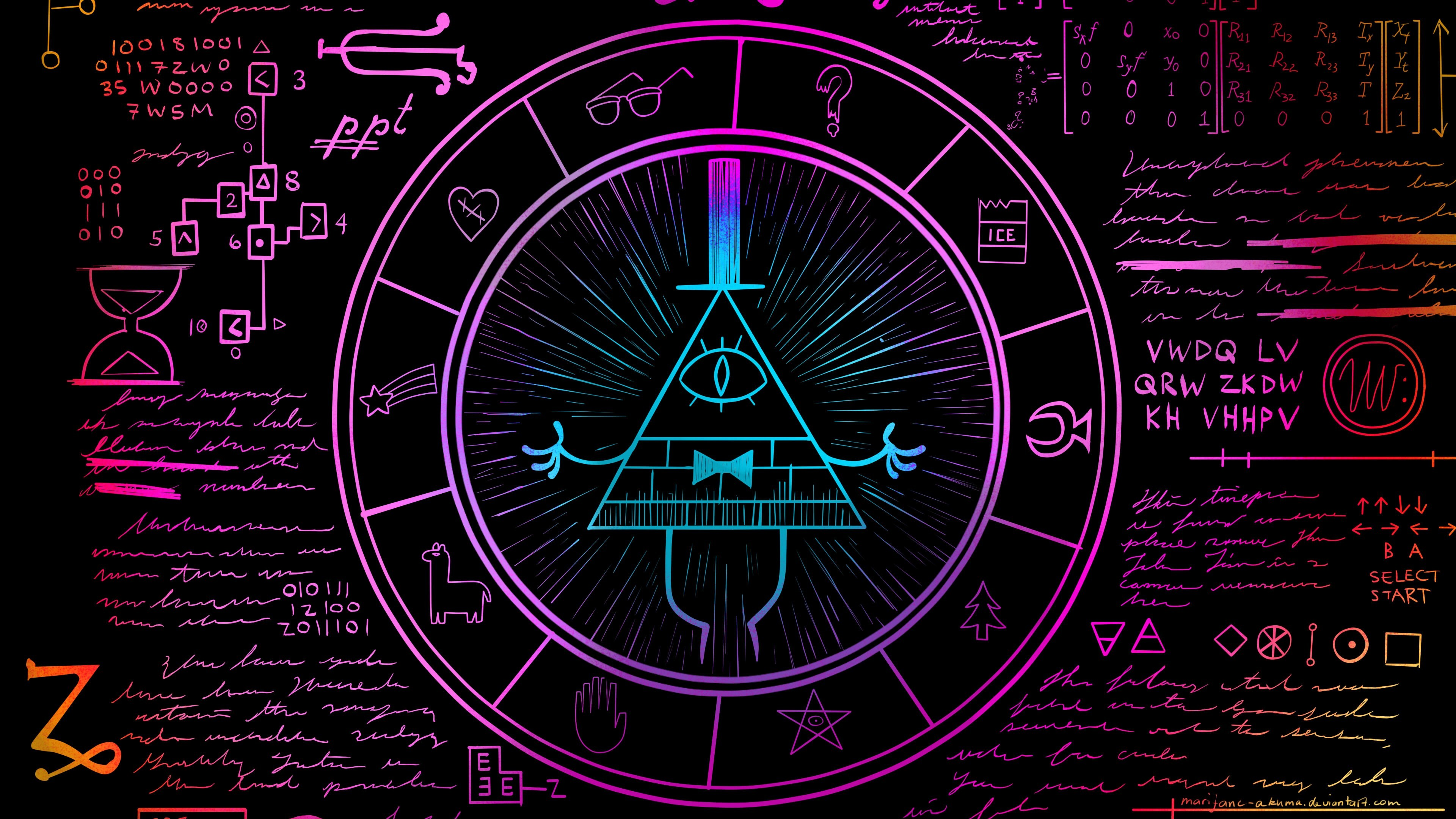 Gravity Falls Bill Cipher Wallpaper 80 images 3840x2160