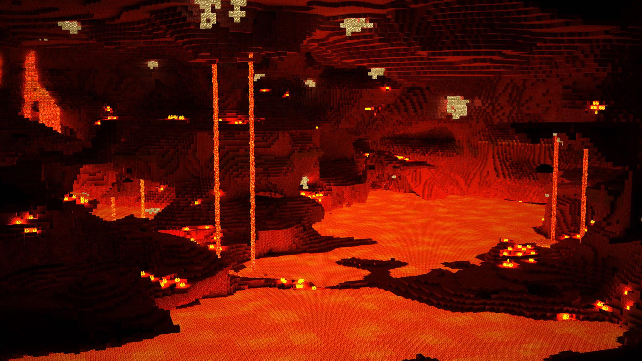 Lava Minecraft 20481152 Wallpaper 1611568 2048x1152