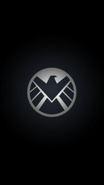 Logo Wallpaper Avengers Pinterest Agents Of Shield 422x750