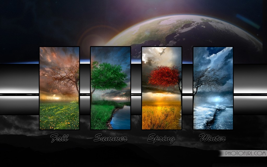 Beautiful Animated Four Seasons Wallpaper Wallpapers 1024x640