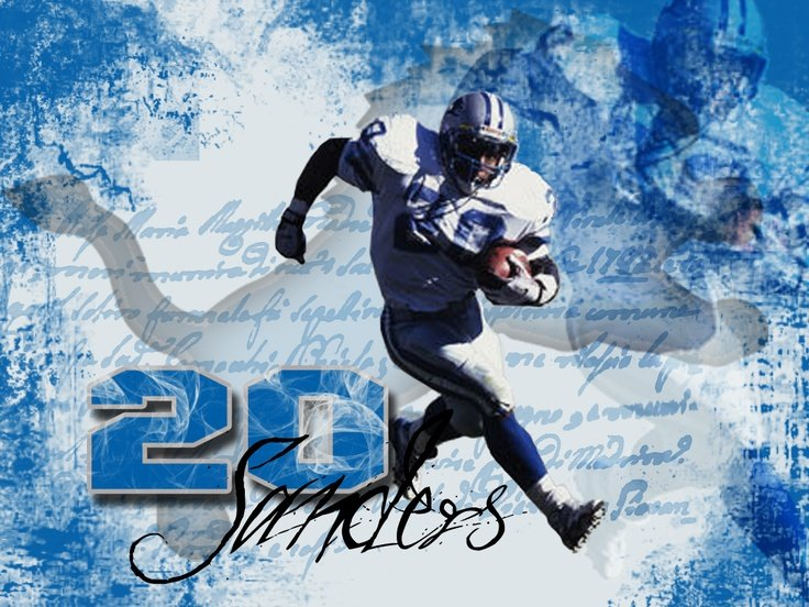 Barry Sanders Wallpapers
