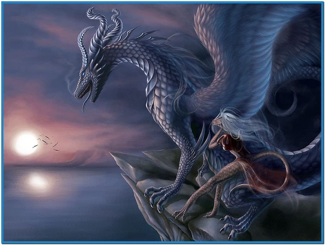 Screensavers wallpaper of dragons 1047x791