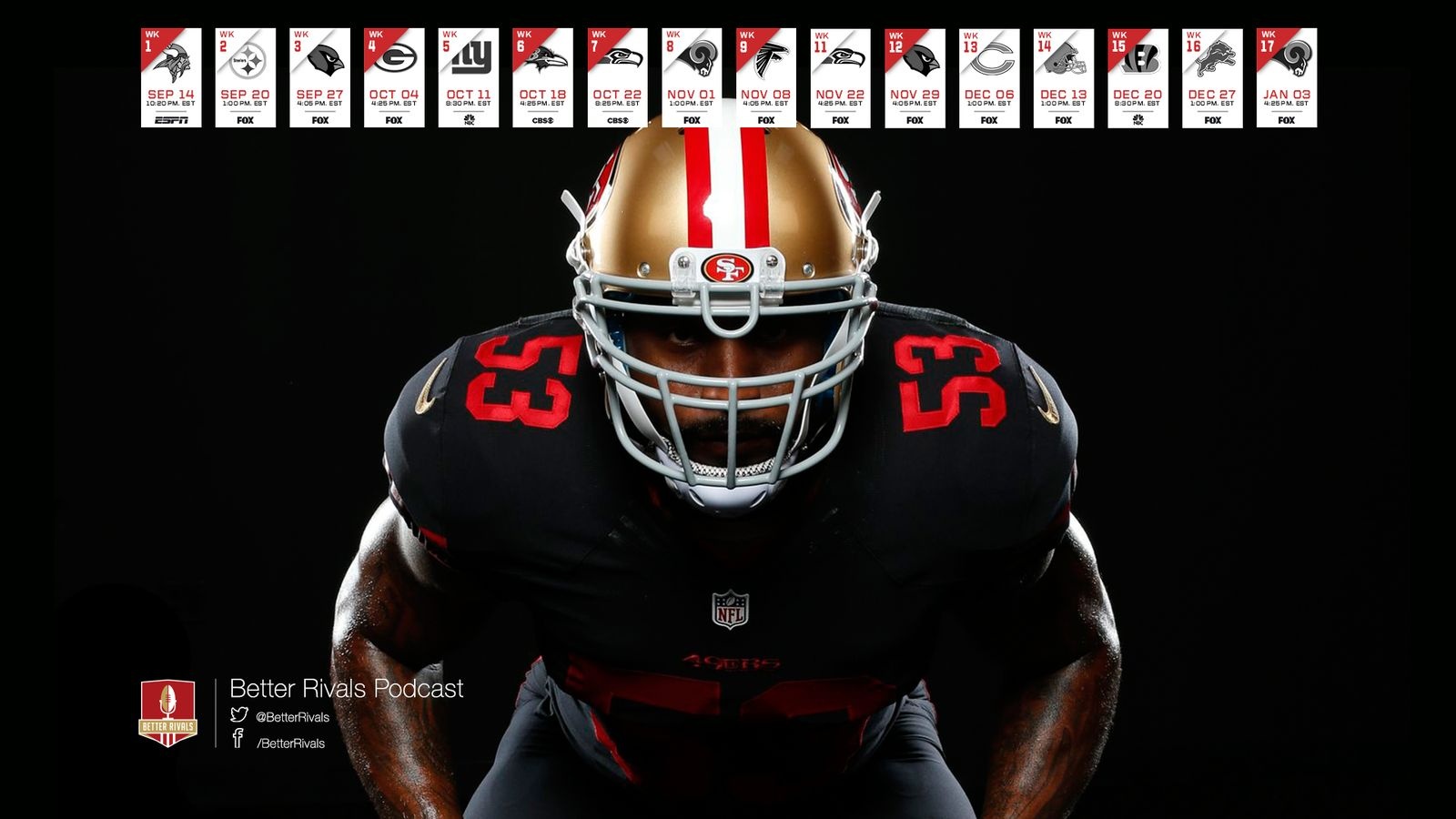 49ers 2015 Schedule Wallpapers   Niners Nation 1600x900