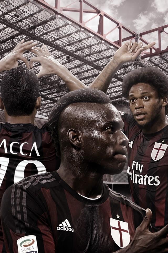 AC Milan 20152016 Wallpaper   Football Wallpapers HD 640x960