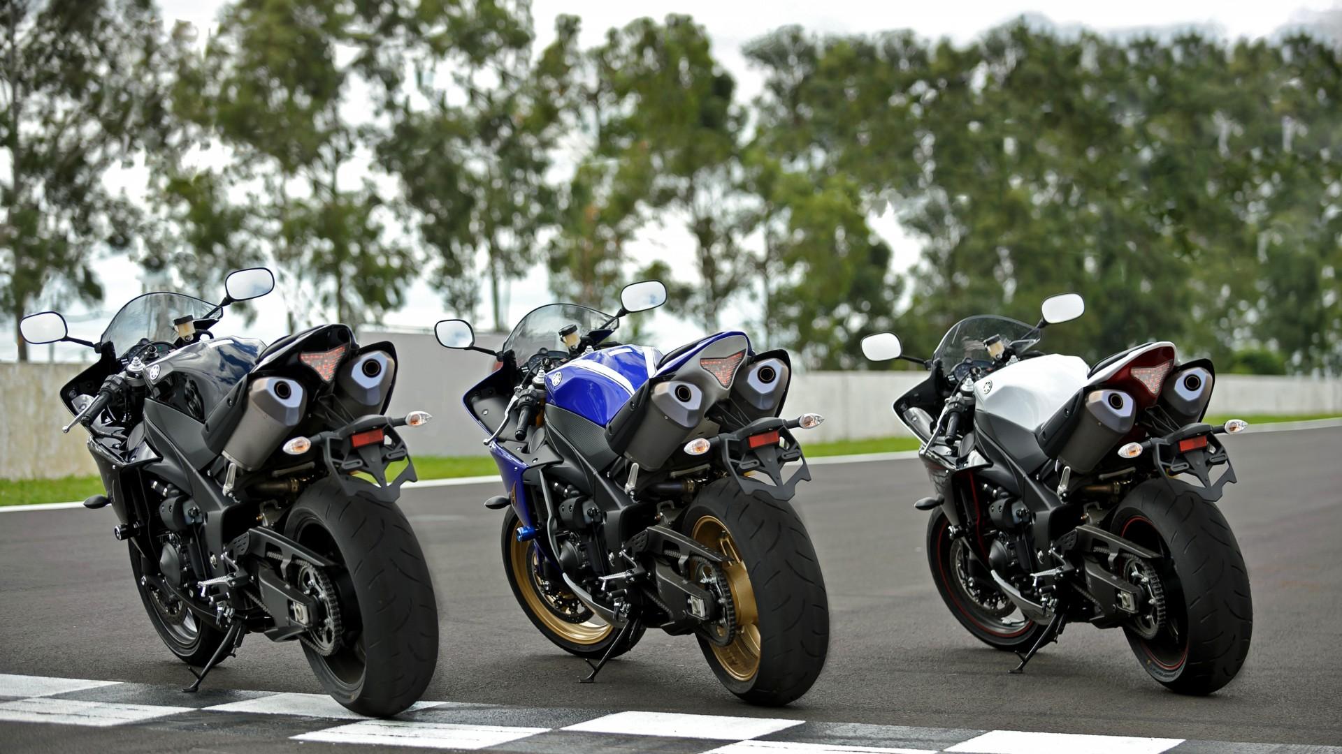 Yamaha R1 YZF Sportbike Superbike Bike Wallpaper Background 1920x1080